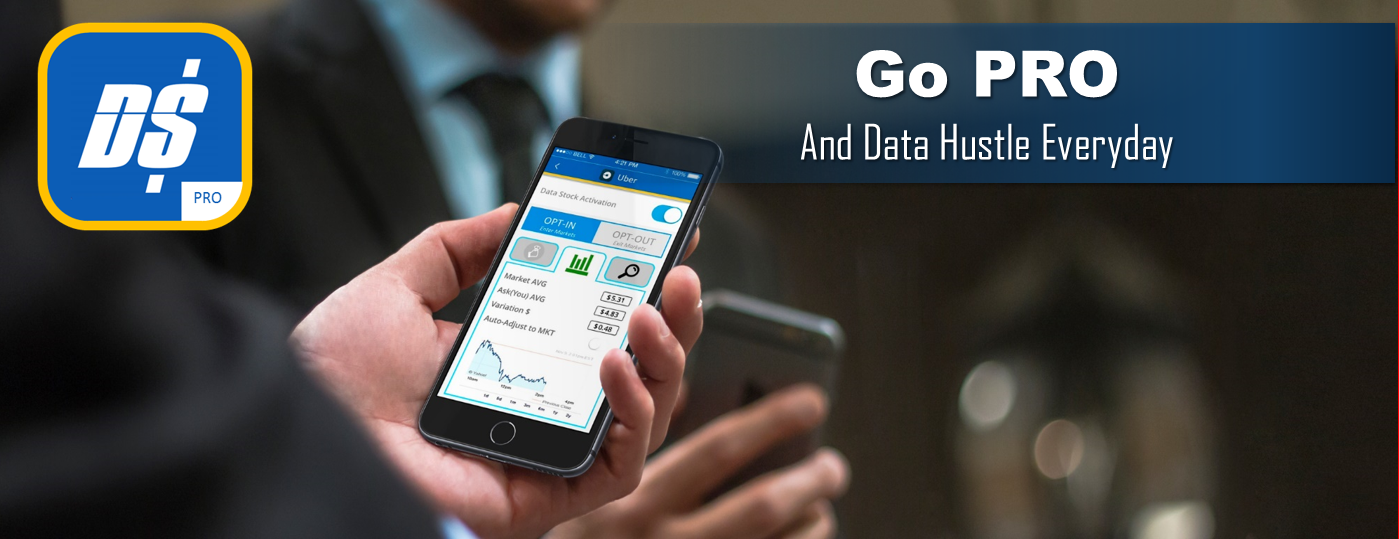 Data Stocks Inc - Money App - data hustle with PRO mobile app